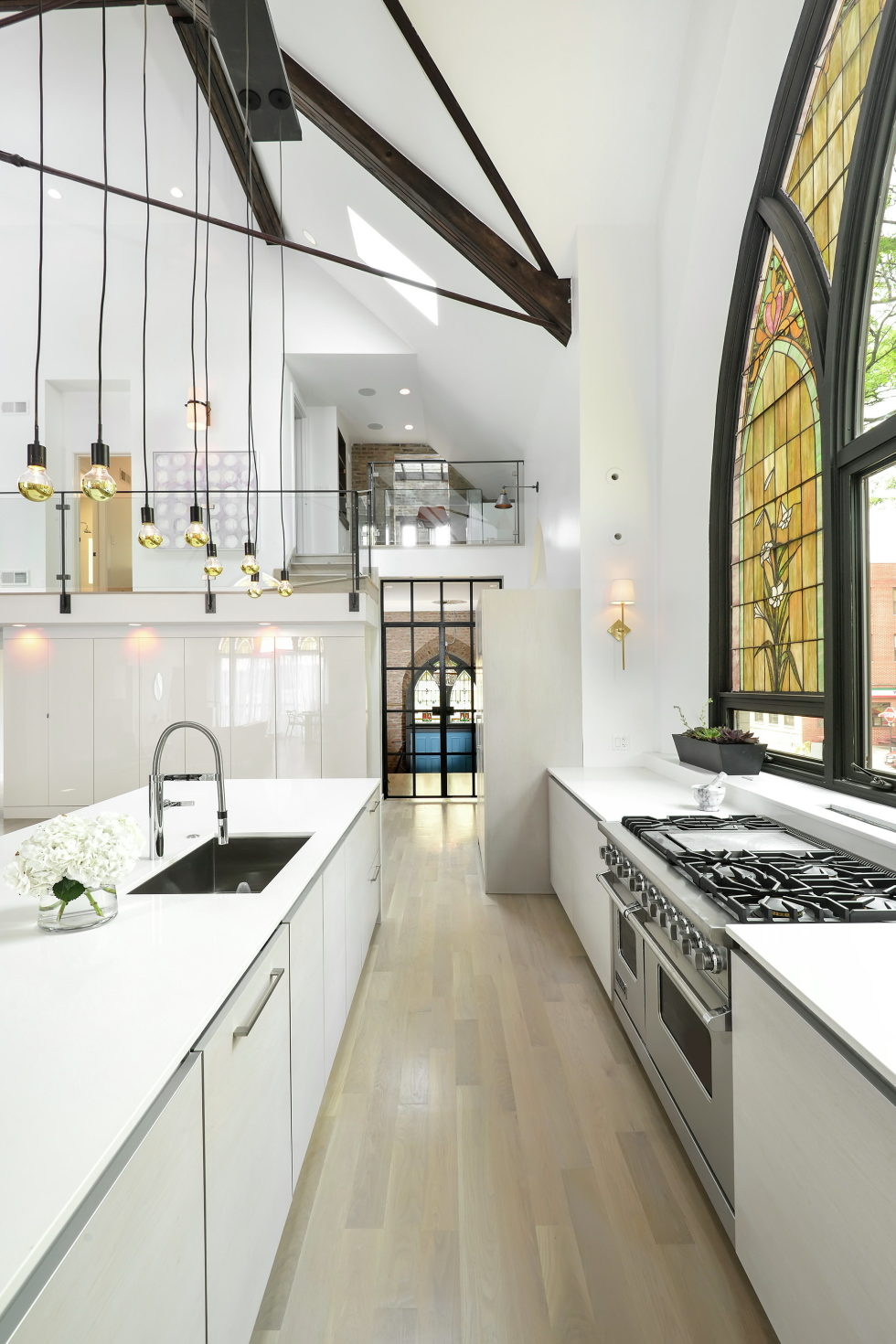 Conversion Of The Former Church Into The House In Chicago 1