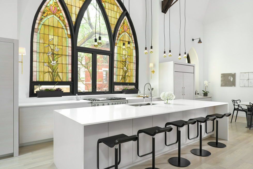 Conversion Of The Former Church Into The House In Chicago 18