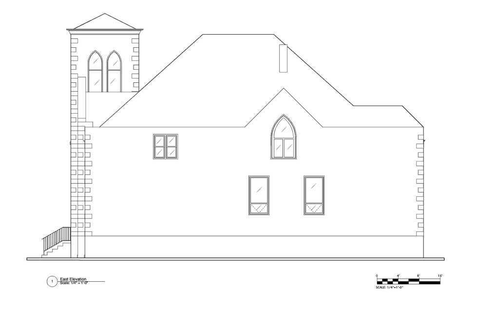 Conversion Of The Former Church Into The House In Chicago 29