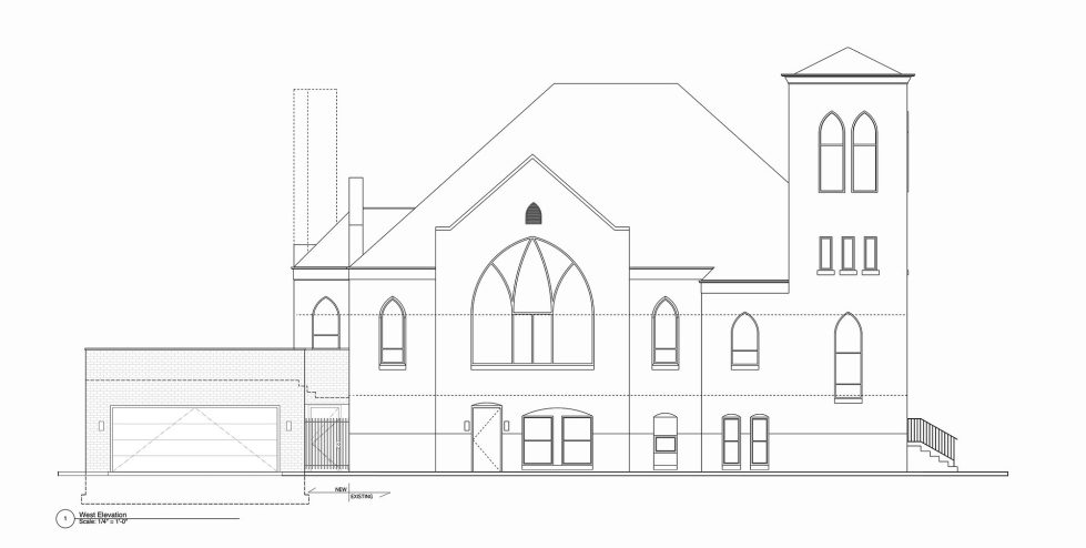 Conversion Of The Former Church Into The House In Chicago 30