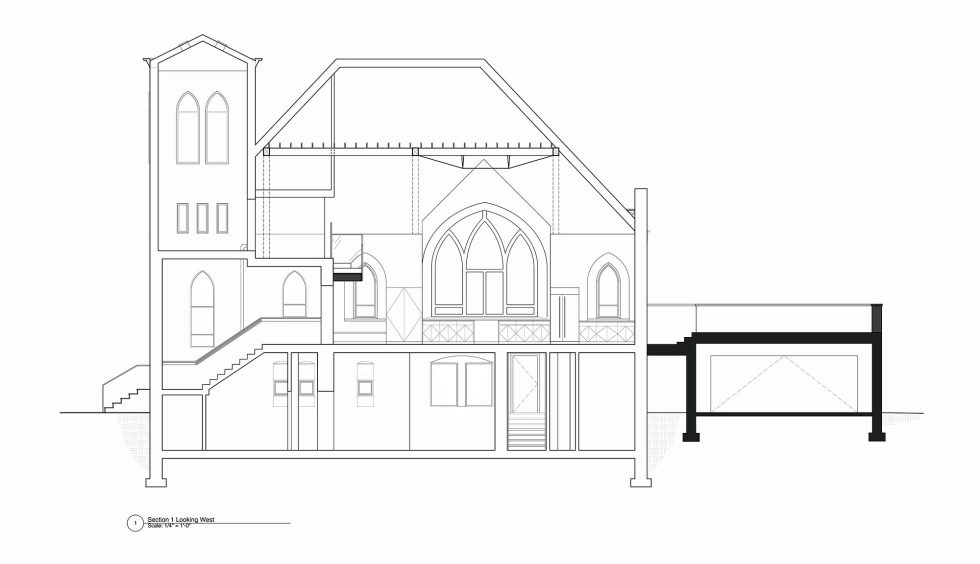 Conversion Of The Former Church Into The House In Chicago 31