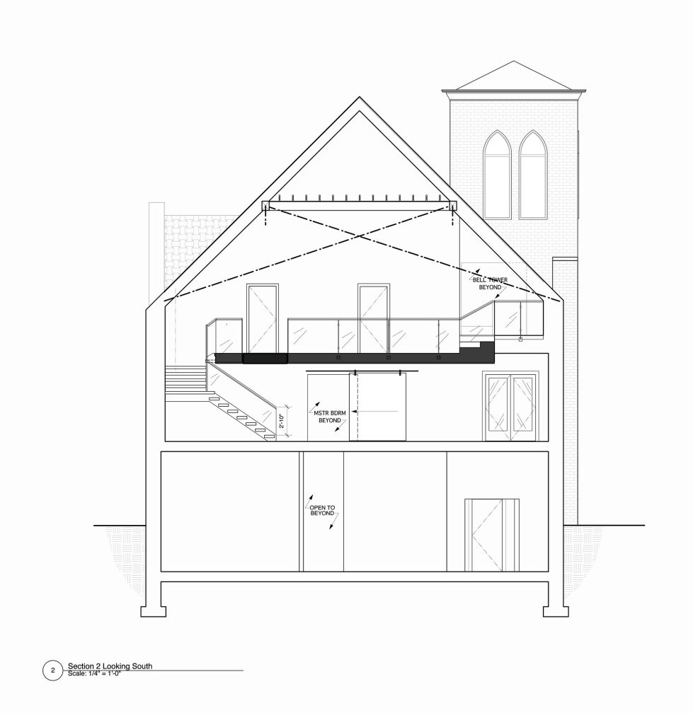 Conversion Of The Former Church Into The House In Chicago 32