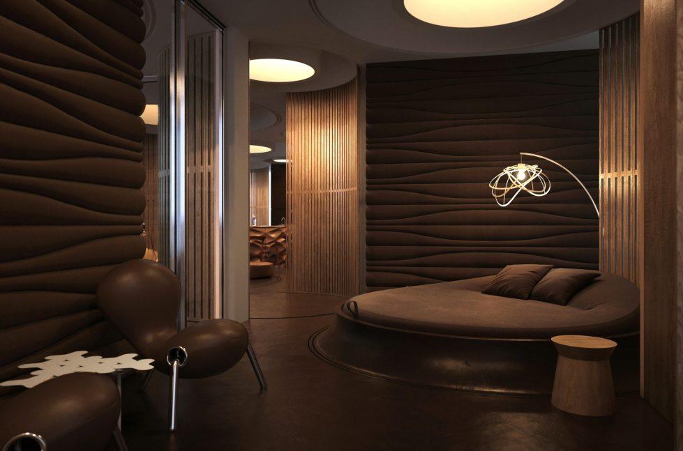 Living room ideas dark wood floor - brown living room decorating ideas