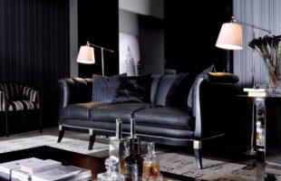 Dark shades for your living room interior 3
