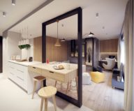 Designing project of the stylish apartments in Lodz 11