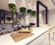 Designing project of the stylish apartments in Lodz 12