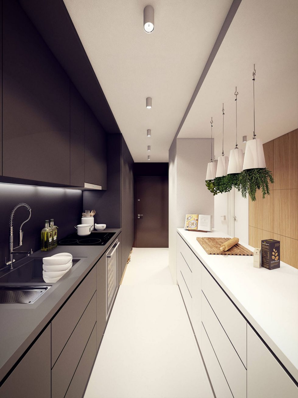 Designing project of the stylish apartments in Lodz 14