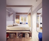 Designing project of the stylish apartments in Lodz 17