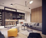 Designing project of the stylish apartments in Lodz 6