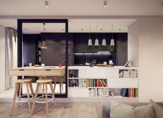 Designing project of the stylish apartments in Lodz 9