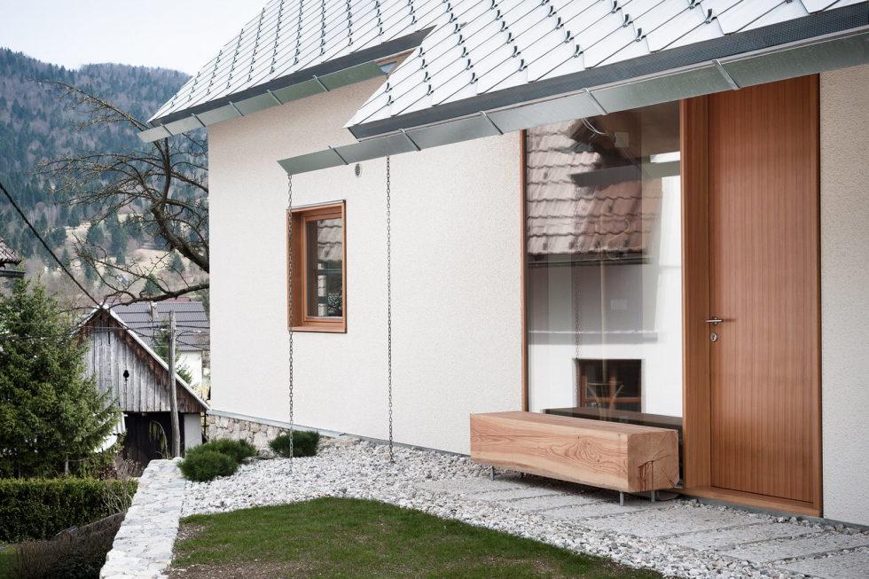 House in the Stara Fuzina village Upon The Project Of Skupaj Arhitekti 10