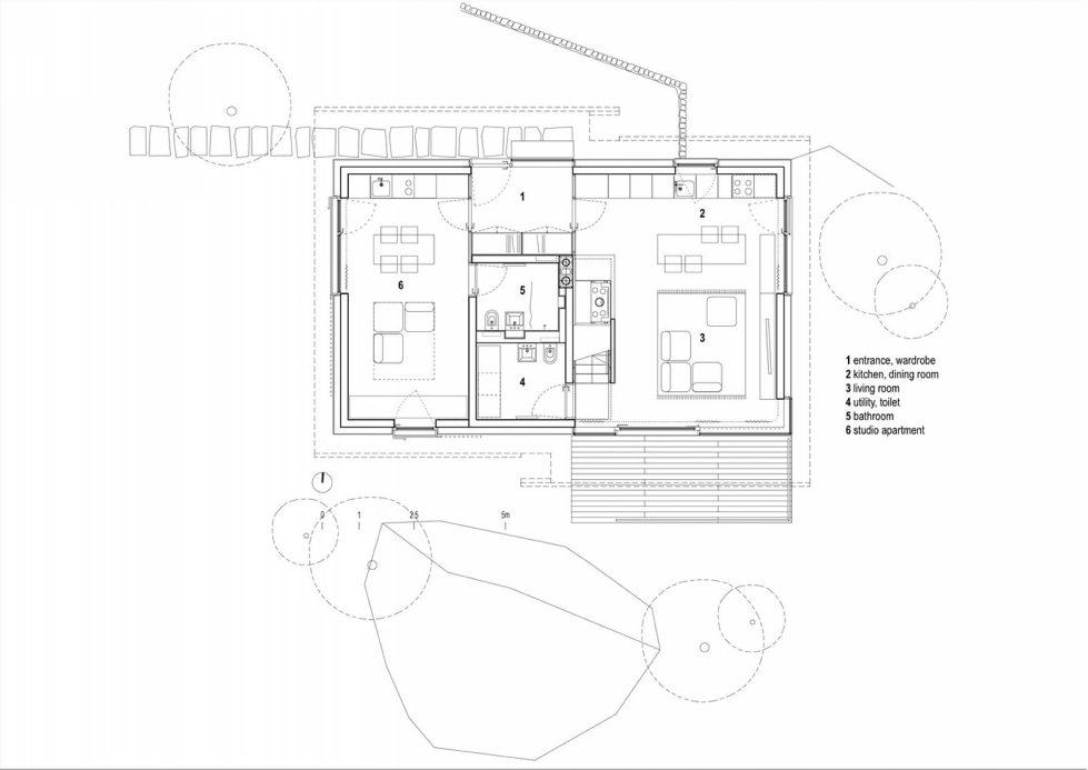 House in the Stara Fuzina village Upon The Project Of Skupaj Arhitekti 29