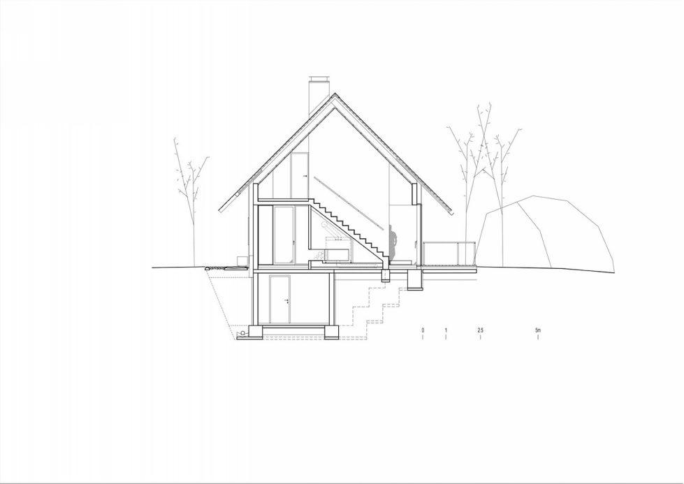 House in the Stara Fuzina village Upon The Project Of Skupaj Arhitekti 35