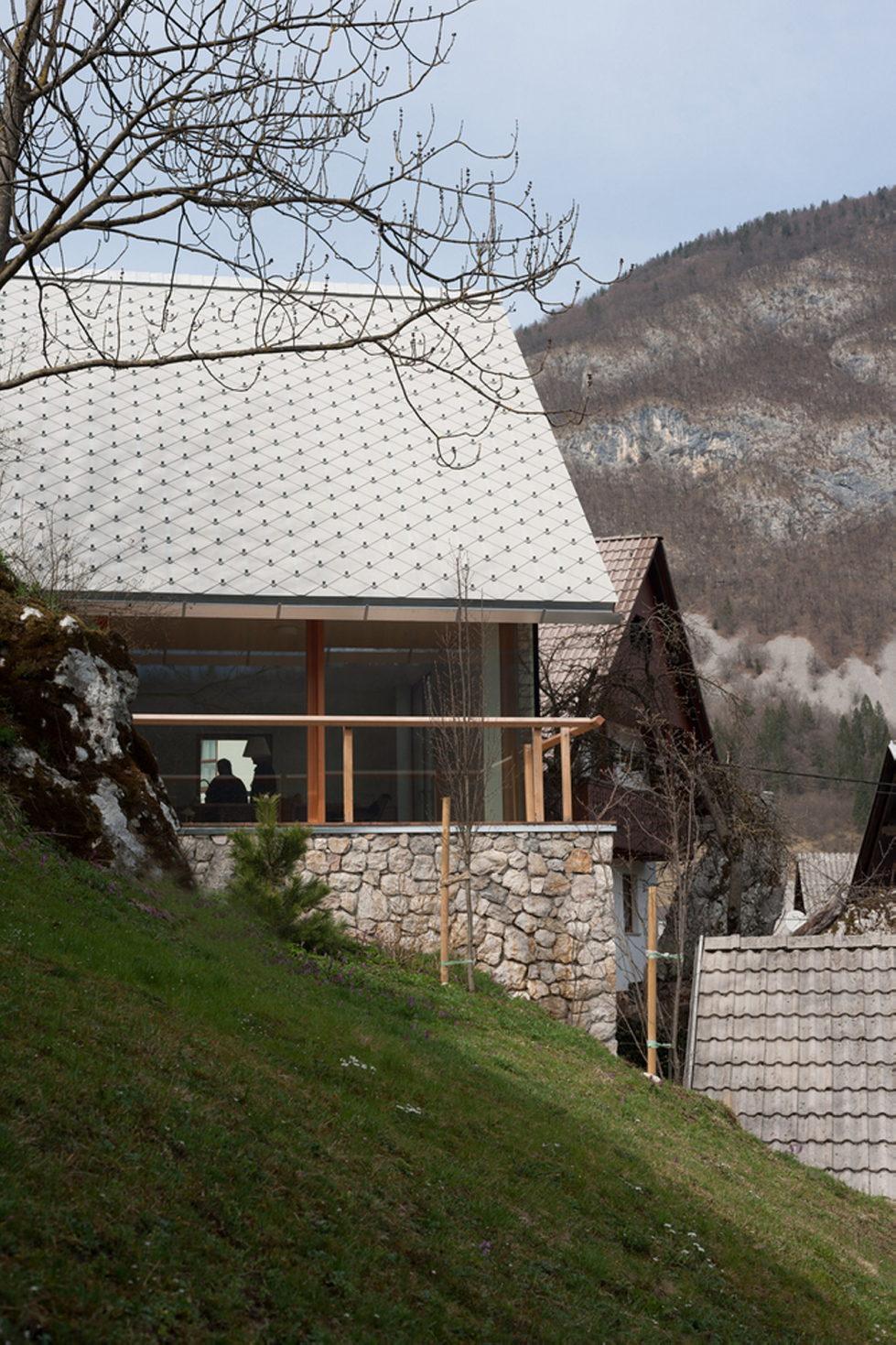 House in the Stara Fuzina village Upon The Project Of Skupaj Arhitekti 9
