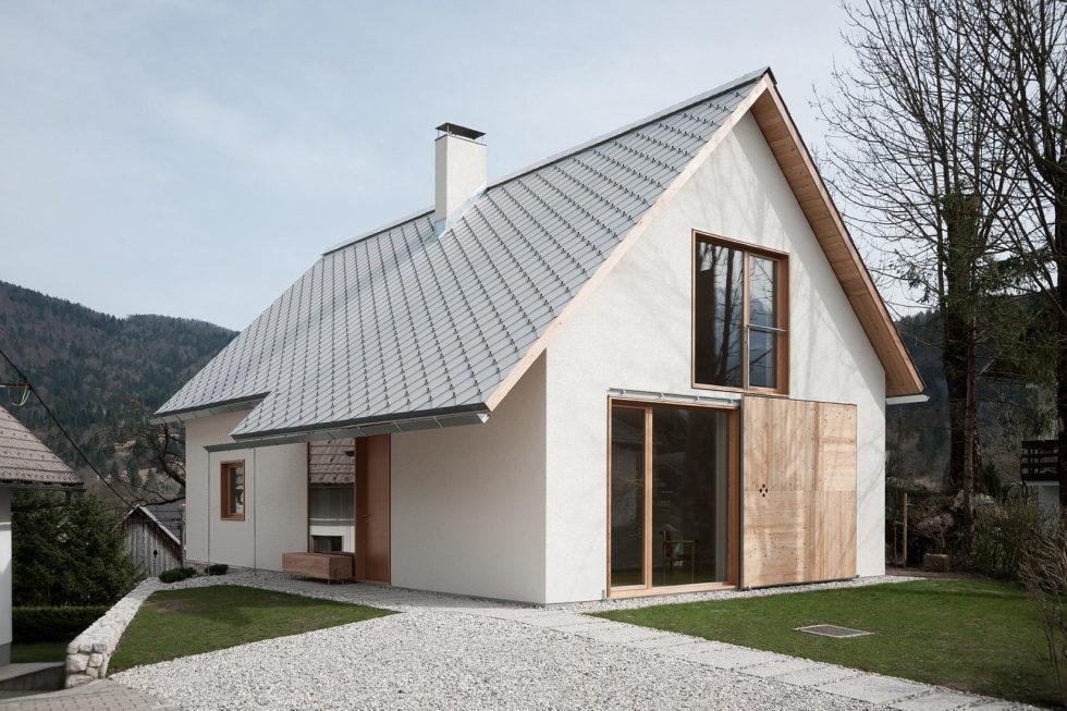 House in the Stara Fuzina village Upon The Project Of Skupaj Arhitekti