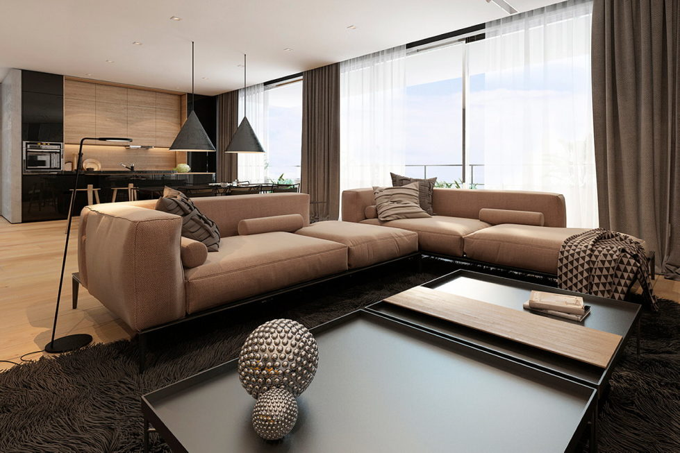 Interior Of Modern Apartments In Tel Aviv From Iryna Dzhemesiuk 10