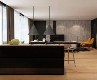 Interior Of Modern Apartments In Tel Aviv From Iryna Dzhemesiuk 3