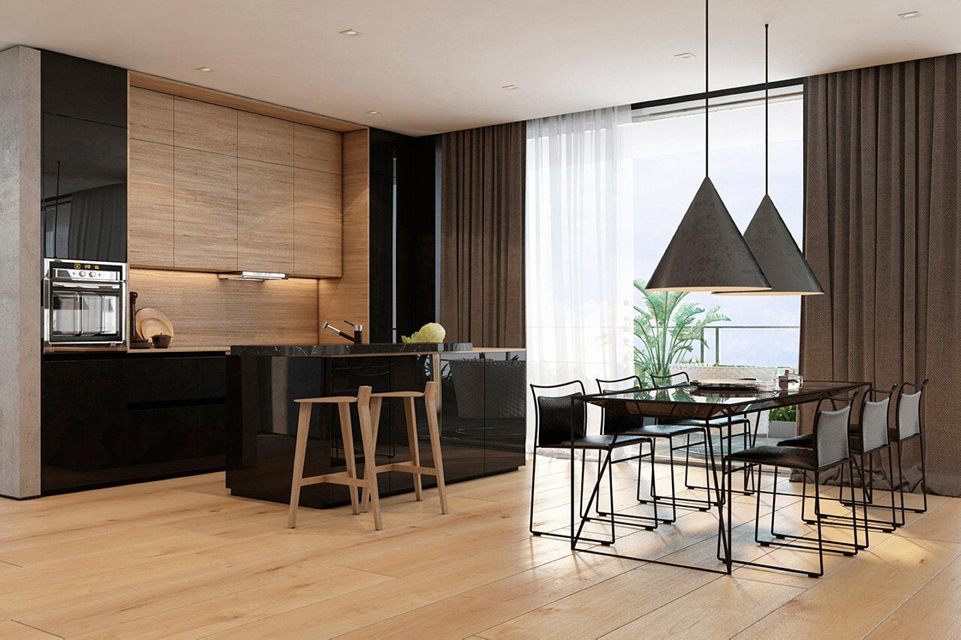 Gallery Of Cheap Apartments Tel Aviv Idea Interior Of Modern Apartments In Tel Aviv From Iryna Dzhemesiuk 4