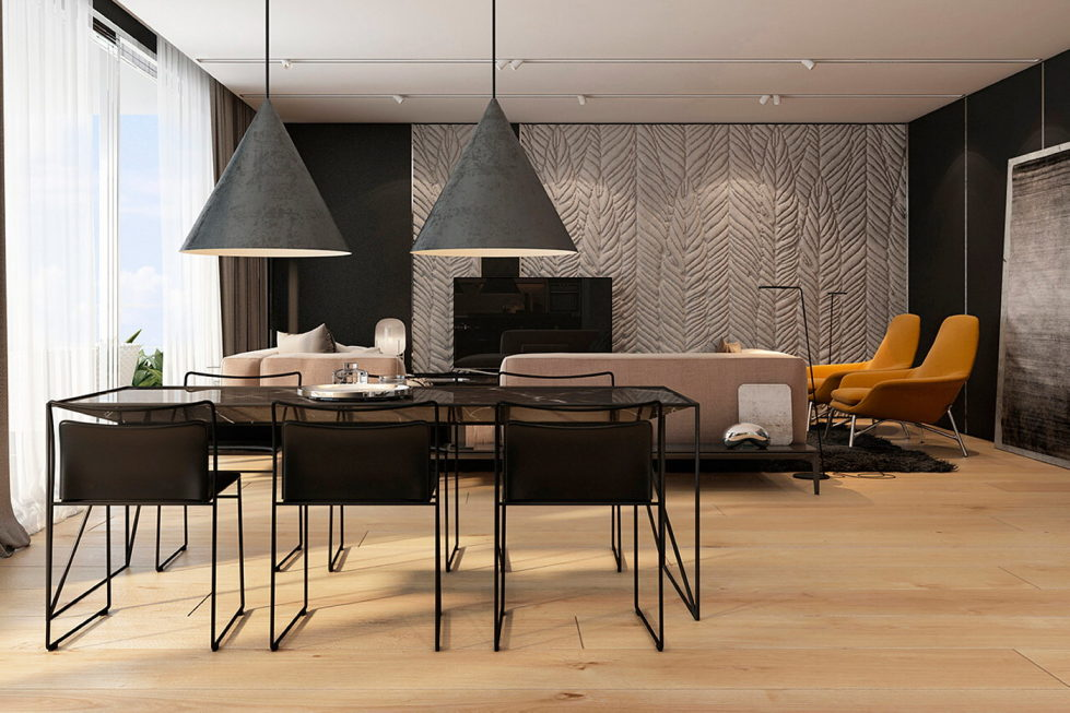 Interior Of Modern Apartments In Tel Aviv From Iryna Dzhemesiuk 6