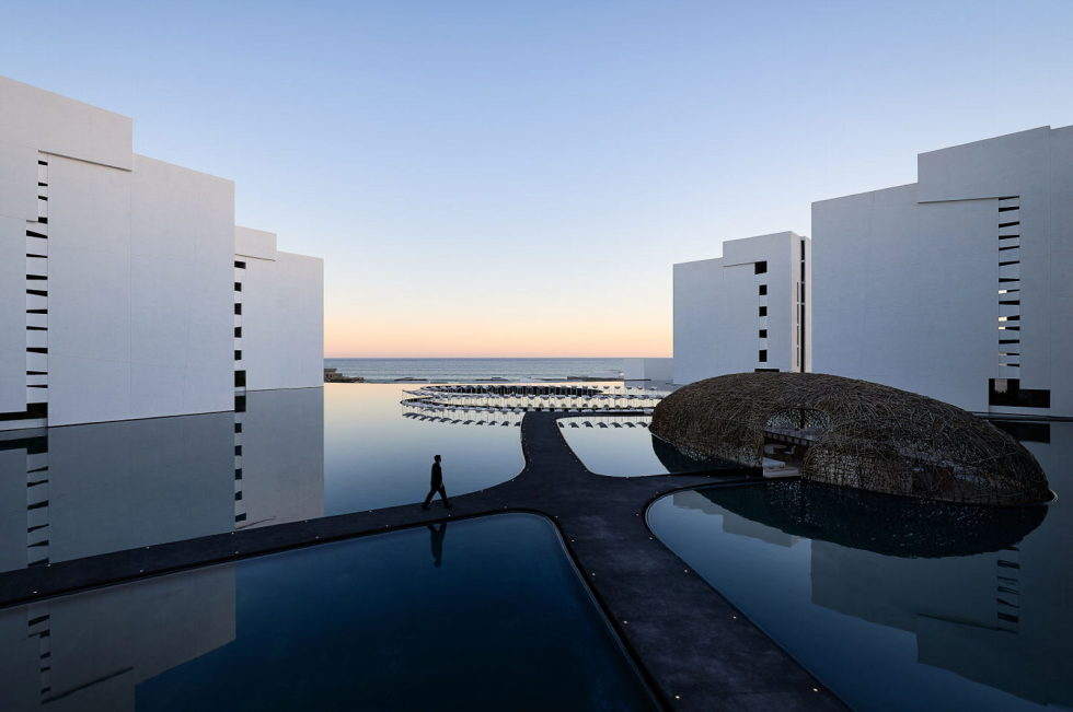 Mar Adentro The Amazig White Hotel In Mexico 1