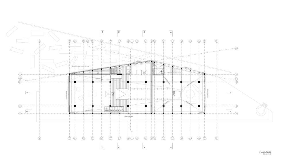 The Barbecue House In Chile Plan 1
