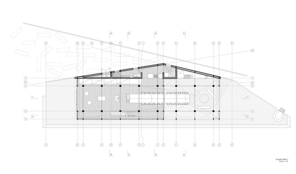 The Barbecue House In Chile Plan 2