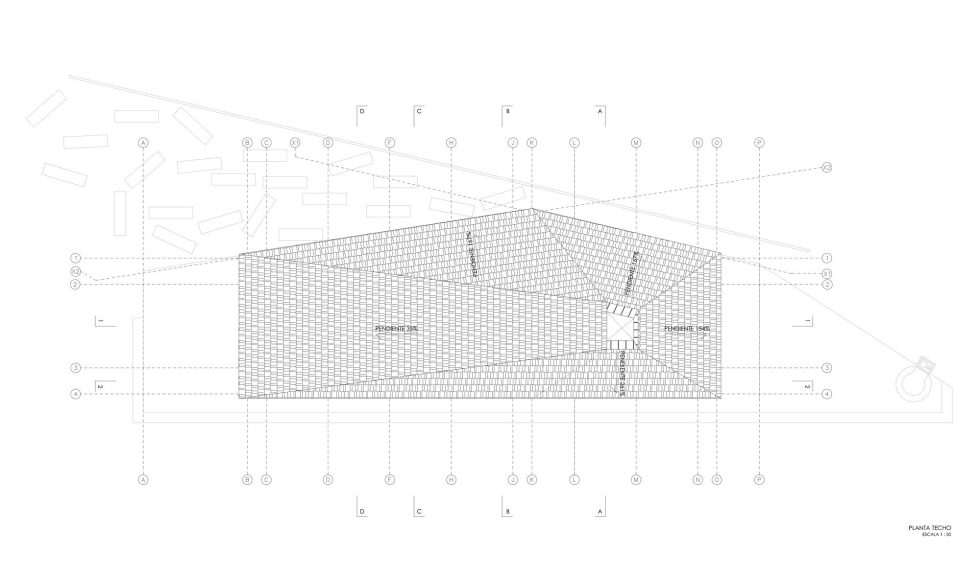 The Barbecue House In Chile Plan 3