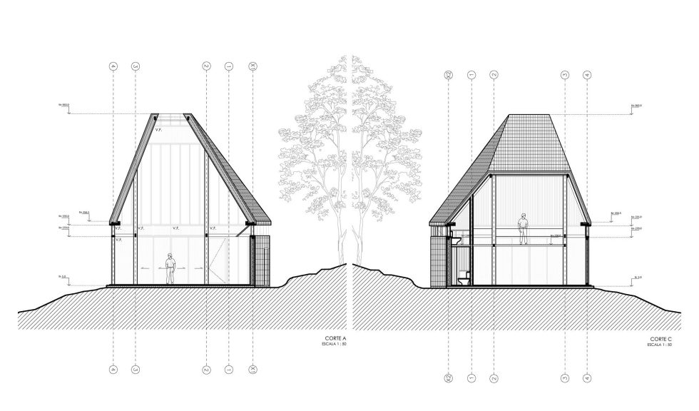 The Barbecue House In Chile Plan 5