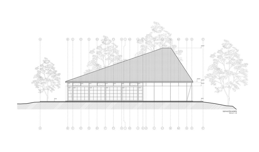 The Barbecue House In Chile Plan 7