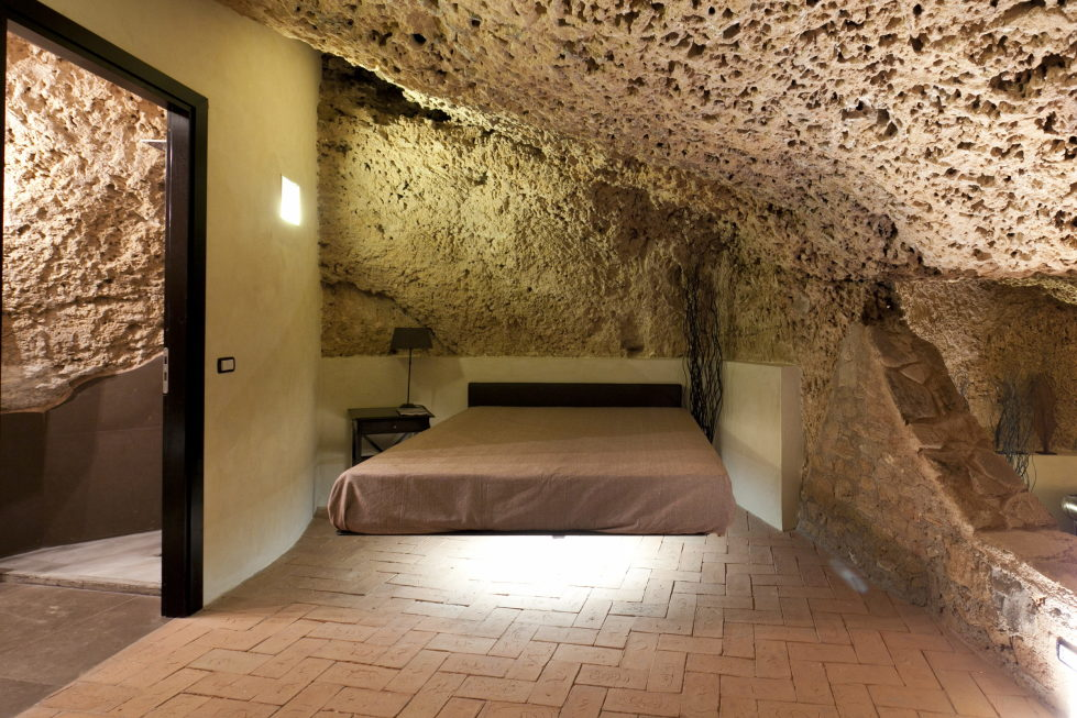 The Cave House On The Sicily Island Italy 13