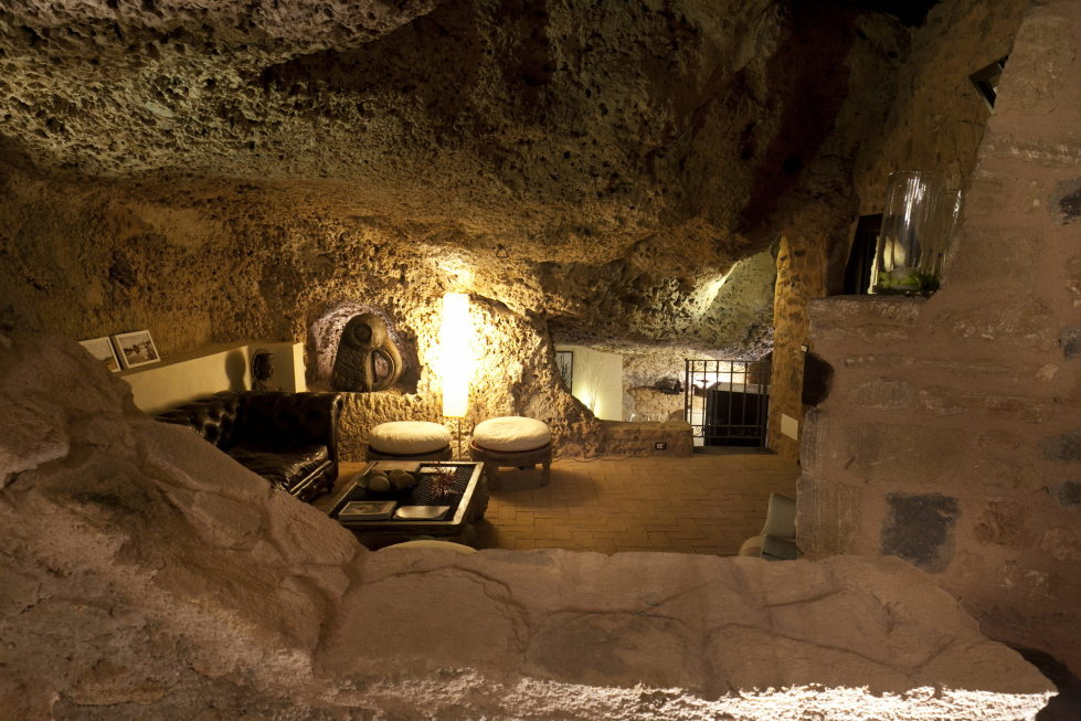 The Cave House On The Sicily Island Italy