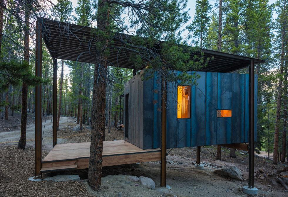 The Dormitory Of The Outward Bound School In Colorado 1