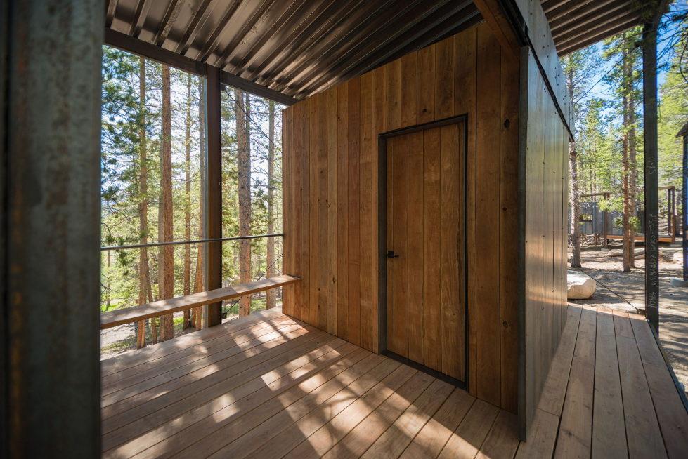 The Dormitory Of The Outward Bound School In Colorado 9