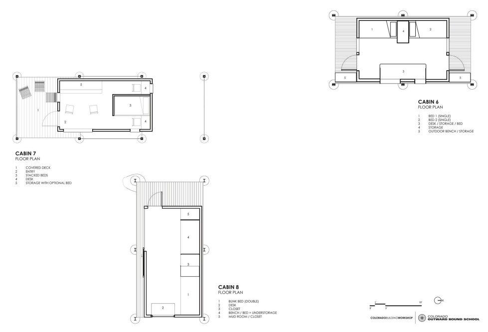 The Dormitory Of The Outward Bound School In Colorado Plan 2