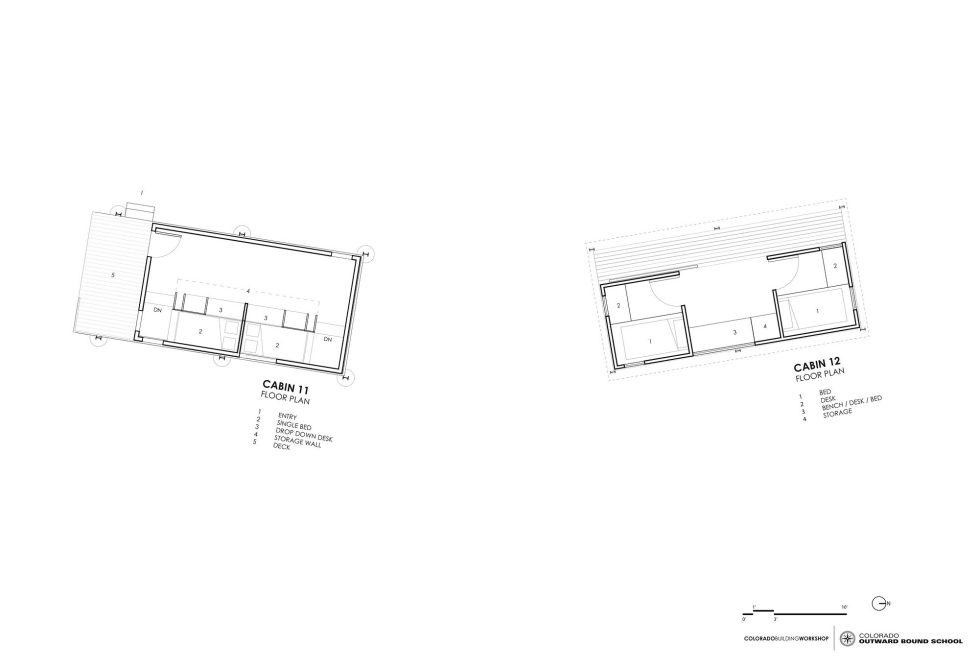 The Dormitory Of The Outward Bound School In Colorado Plan 3
