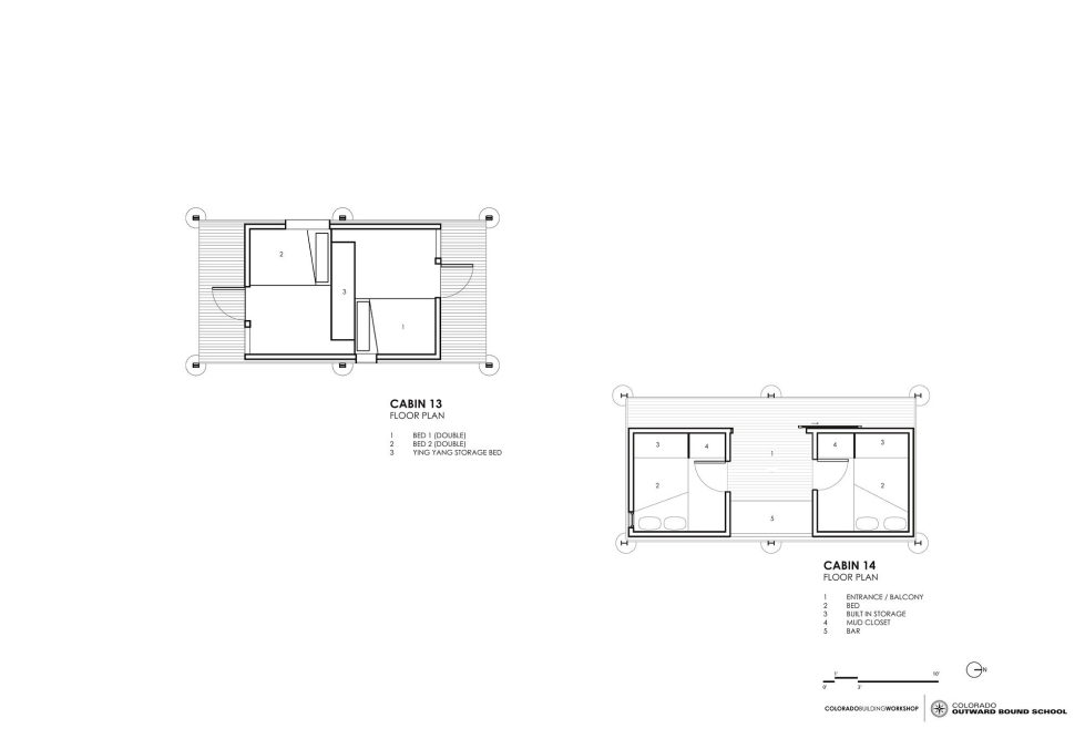 The Dormitory Of The Outward Bound School In Colorado Plan 4