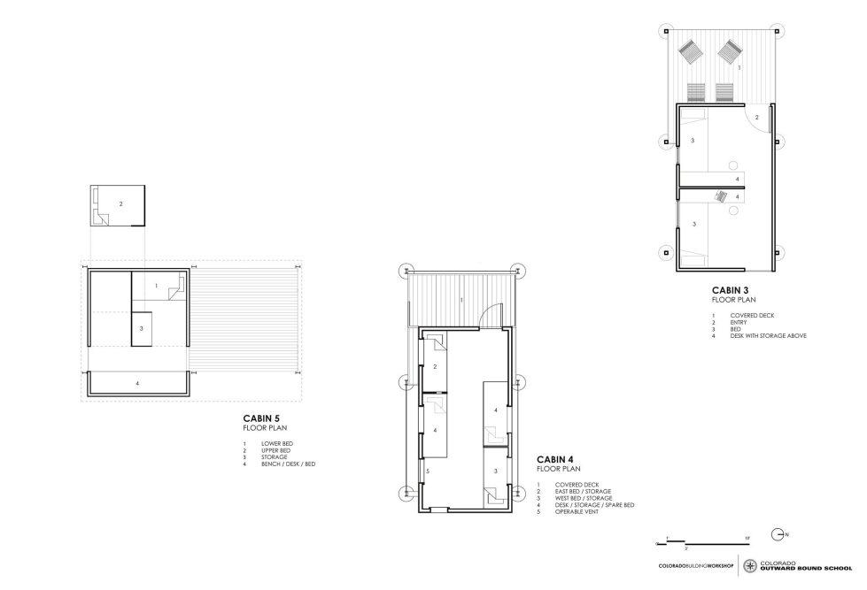 The Dormitory Of The Outward Bound School In Colorado Plan 5