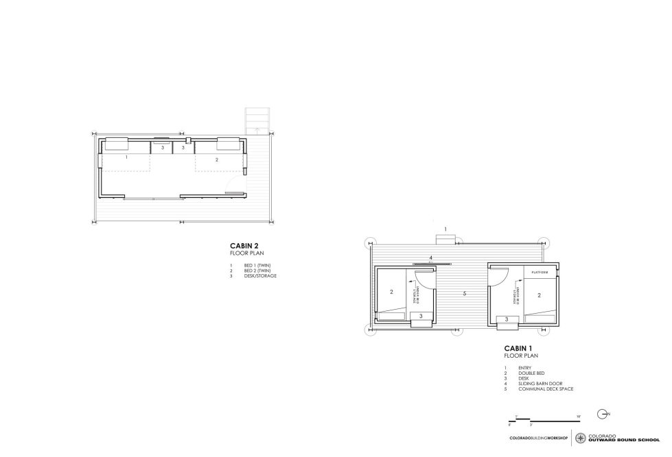 The Dormitory Of The Outward Bound School In Colorado Plan 6