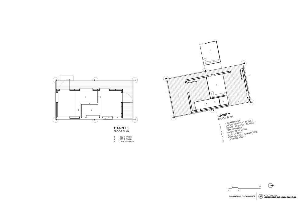 The Dormitory Of The Outward Bound School In Colorado Plan 7