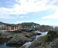 The Summer Family House On The Rocky Norwegian Island 1