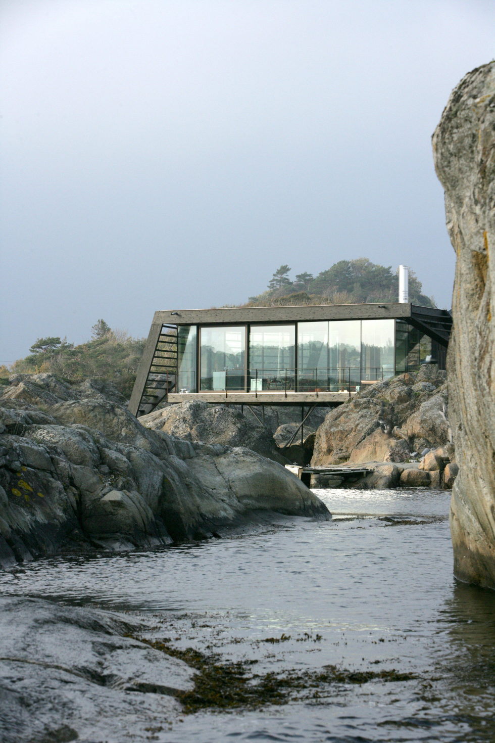 The Summer Family House On The Rocky Norwegian Island 3
