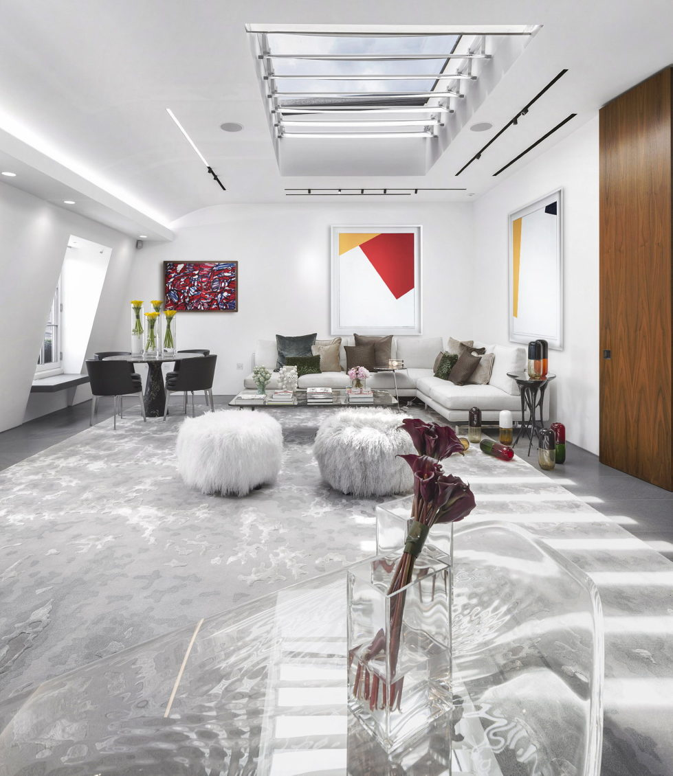 The Three-Storey Penthouse In London 1