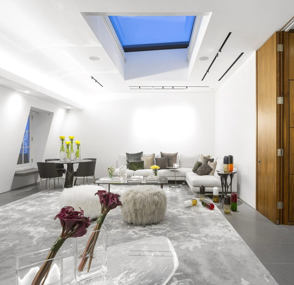 The Three-Storey Penthouse In London 7