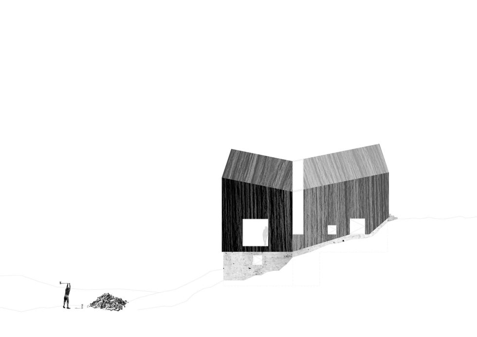 The house in Scotland from the Raw Architecture Workshop studio 19