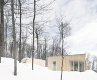 The wooden house in the Canadian woods 1