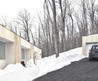 The wooden house in the Canadian woods 11