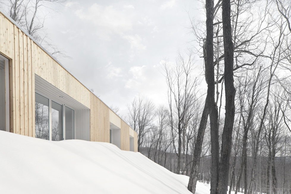 The wooden house in the Canadian woods 2