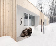 The wooden house in the Canadian woods 3