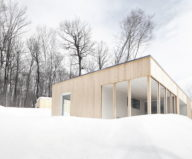 The wooden house in the Canadian woods 7