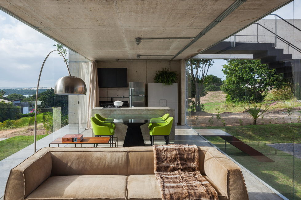 Two Beams House The Innovative And Affordable Dwelling In Brazil 17